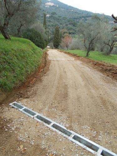 Zufahrten mit Wasserablauftraversen